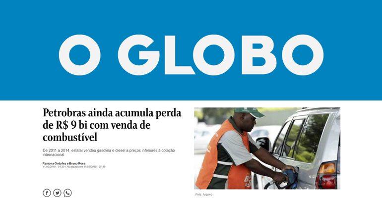 Entrevista de Adriano Pires ao O Globo (Fonte: Divulgação)